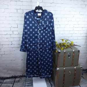 Joyfolie Mia Joy Jordan Shooting Star Pajama Nvy L